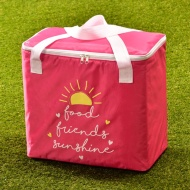 Oversized Picnic Cooler Bag - Pink