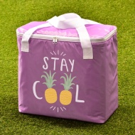 Oversized Picnic Cooler Bag - Purple