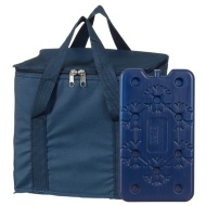 Cool Bag with Ice Pack - Navy