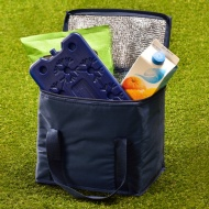 Cooler Bag with Ice Pack - Navy