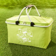 Foldable Picnic Basket - Green