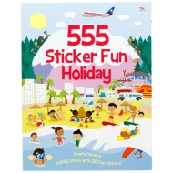 555 Sticker Fun Book
