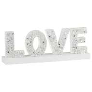 Decorative Wooden Block - Love