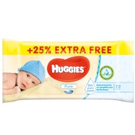 Huggies Wipes +25% Extra Free 72pk
