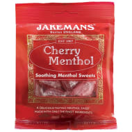 Jakemans Soothing Menthol Sweets 100g - Cherry