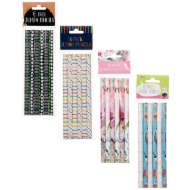 Fashion Jumbo Pencils 6pk