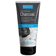 Beauty Formulas Charcoal Face Scrub 150ml