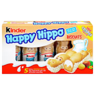 Kinder Happy Hippo Biscuits 5pk