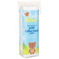 Baby Bear Cotton Wool Pads 100pk