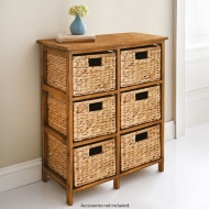 Alexa Hyacinth 6 Drawer Chest