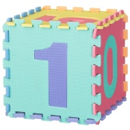 Foam Number Squares Set 10pk
