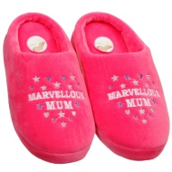 Mother's Day Slippers - Marvellous Mum