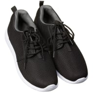 Mens Lace Up Active Walker - Black
