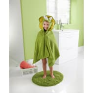Kids Hooded Bath Towel - Dinosaur
