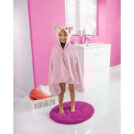 Kids Hooded Bath Towel - Owl