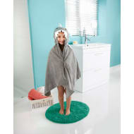 Kids Hooded Bath Towel - Shark