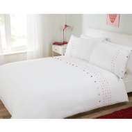 Pom Pom Double Duvet Set