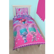 Trolls Single Duvet Set - Put Your Hair in the Air