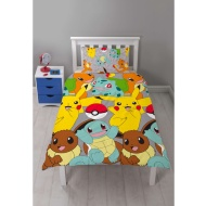 Pokemon Single Duvet Set