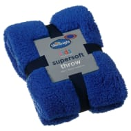 Silentnight Kids Collection Supersoft Throw - Blue