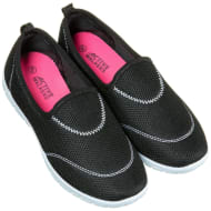 Ladies Active Walker Shoes - Black