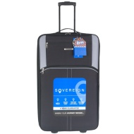 Sovereign Suitcase 80cm - Black