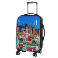 Sovereign Suitcase 54cm - New York Printed