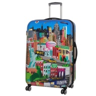 Sovereign Suitcase 77cm - New York Printed