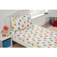 Kids Sheet Set Single - Monsters