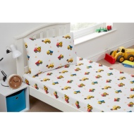 Kids Sheet Set Single - Construction