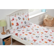 Kids Sheet Set Single - Woodland