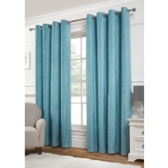 Jessica Plain Chenille Fully Lined Curtain 66 x 72