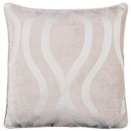 Belgravia Oversized Chenille Cushion - Cream