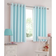 Silentnight Kids Light Reducing Eyelet Curtains 49 x 72