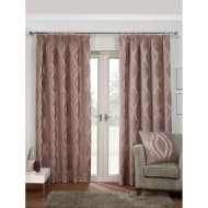 Belgravia Chenille Fully Lined Curtain - 46 x 72