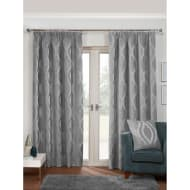 Belgravia Chenille Fully Lined Curtain - 66 x 72