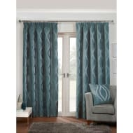 Belgravia Chenille Fully Lined Curtain - 66 x 90