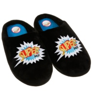Father's Day Memory Foam Slippers - Super Dad