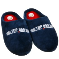 Father's Day Memory Foam Slippers - Top Dad