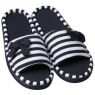 Ladies Cosy Toes Memory Foam Slippers