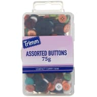 Assorted Buttons 75g