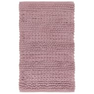 Super Soft Knitted Chenille Bath Mat - Mauve