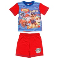 Kids Paw Patrol Shortie Pyjamas - Red