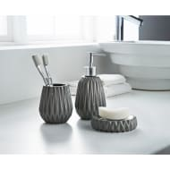 Jagged Edge Bathroom Set 3pc