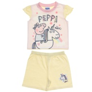 Kids Peppa Pig Shortie Pyjamas