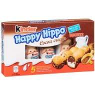 Kinder Happy Hippo Biscuits - Cocoa Cream