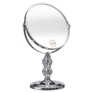 Crystal Two-Sided Swivel Mirror