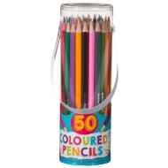 Hobby World Coloured Pencils 50pk