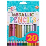 Hobby World Metallic Pencils 20pk