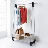 2 Shelf Garment Rail